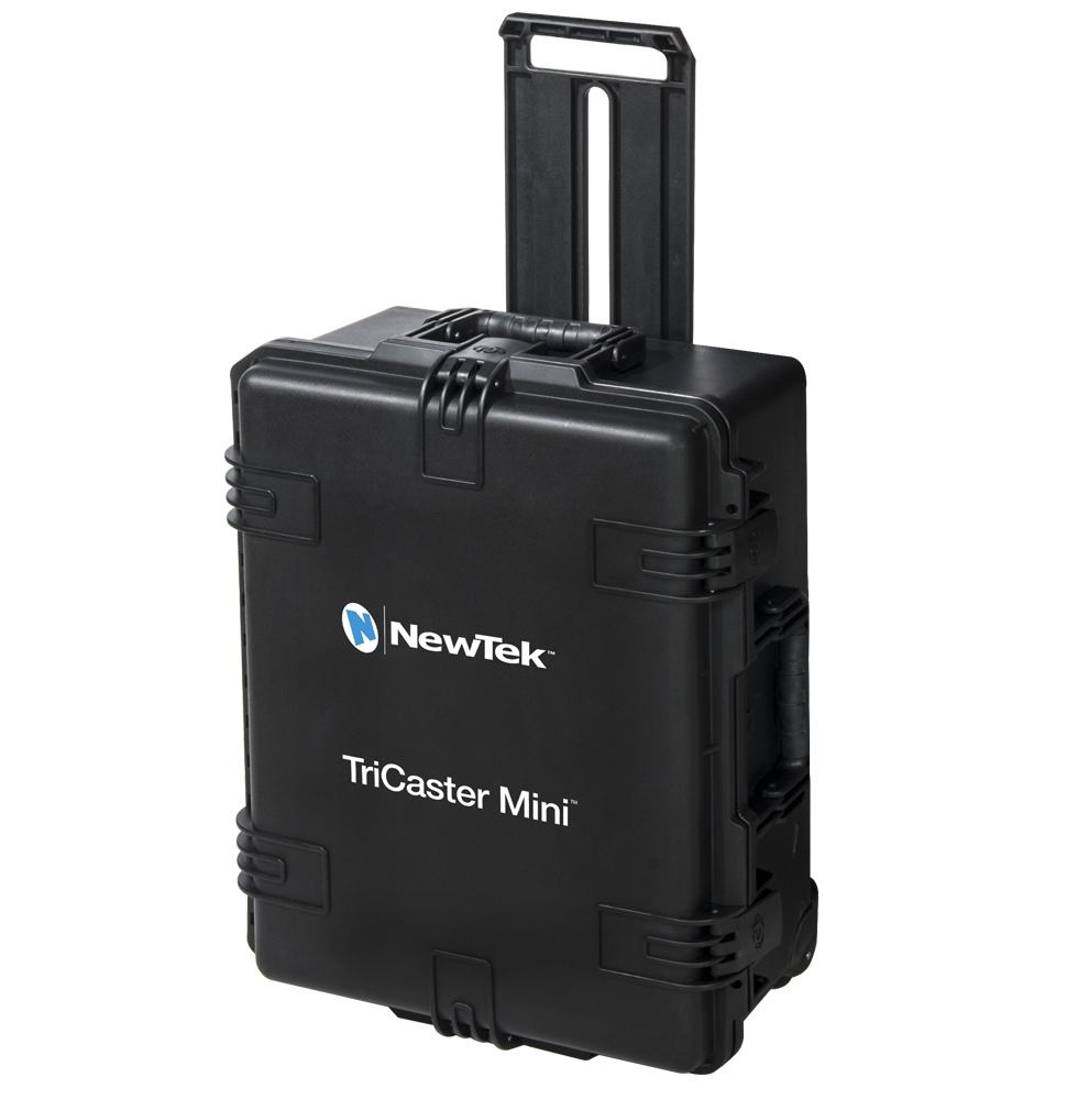 TriCaster Mini Hard-Side Travel Case with Custom Foam