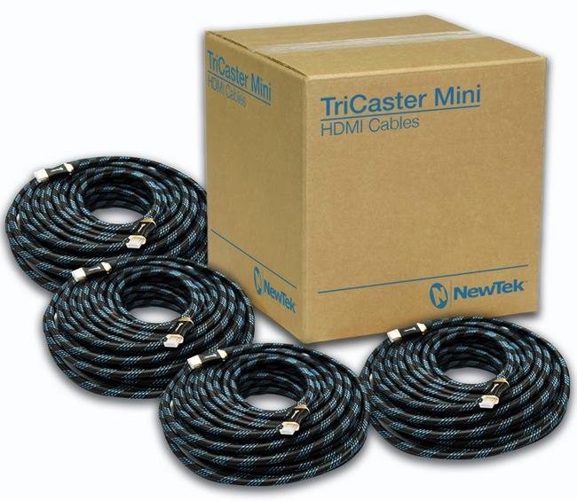 TriCaster Mini HDMI Cable Kit