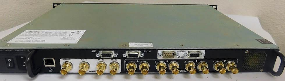 Ultimatte 11 - Rear Connectors