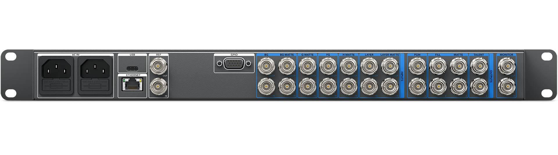 Ultimatte 12 - Rear Connectors - ULTMKEY12