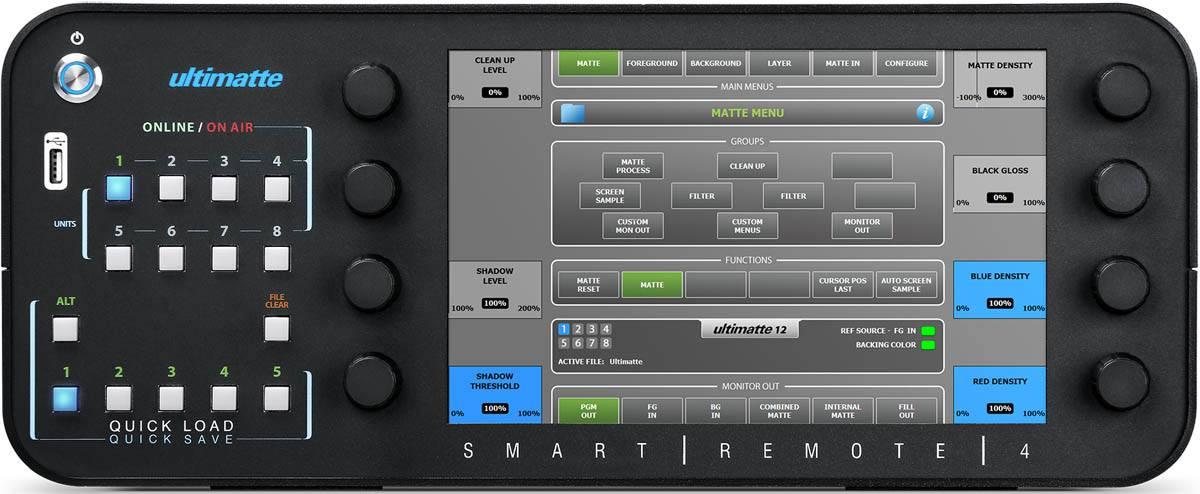 Ultimatte Smart Remote 4 - BMD-ULTMSMTREM4 - Front