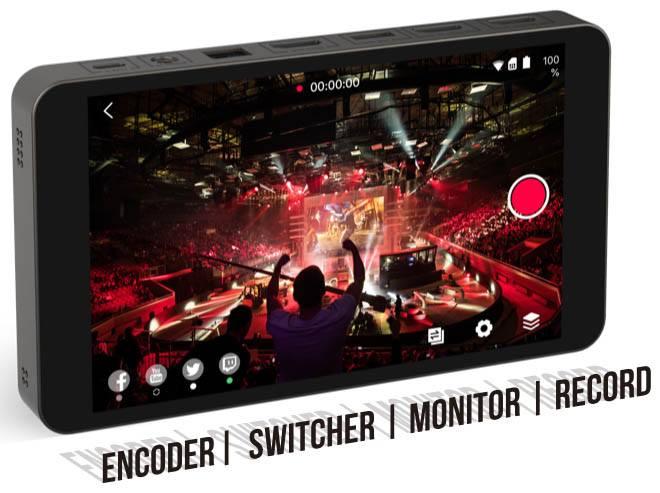 YoloBox Portable Live Streaming Device