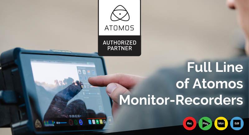 Atomos Shogun, SUMO, Ninja, Monitor-Recorder Discounts